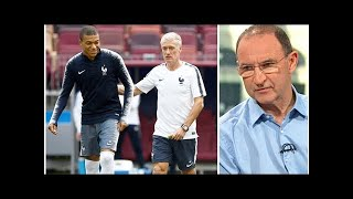 1db8b21fa Martin O Neill questions France team after Paul Pogba and Kylian Mbappe  left out
