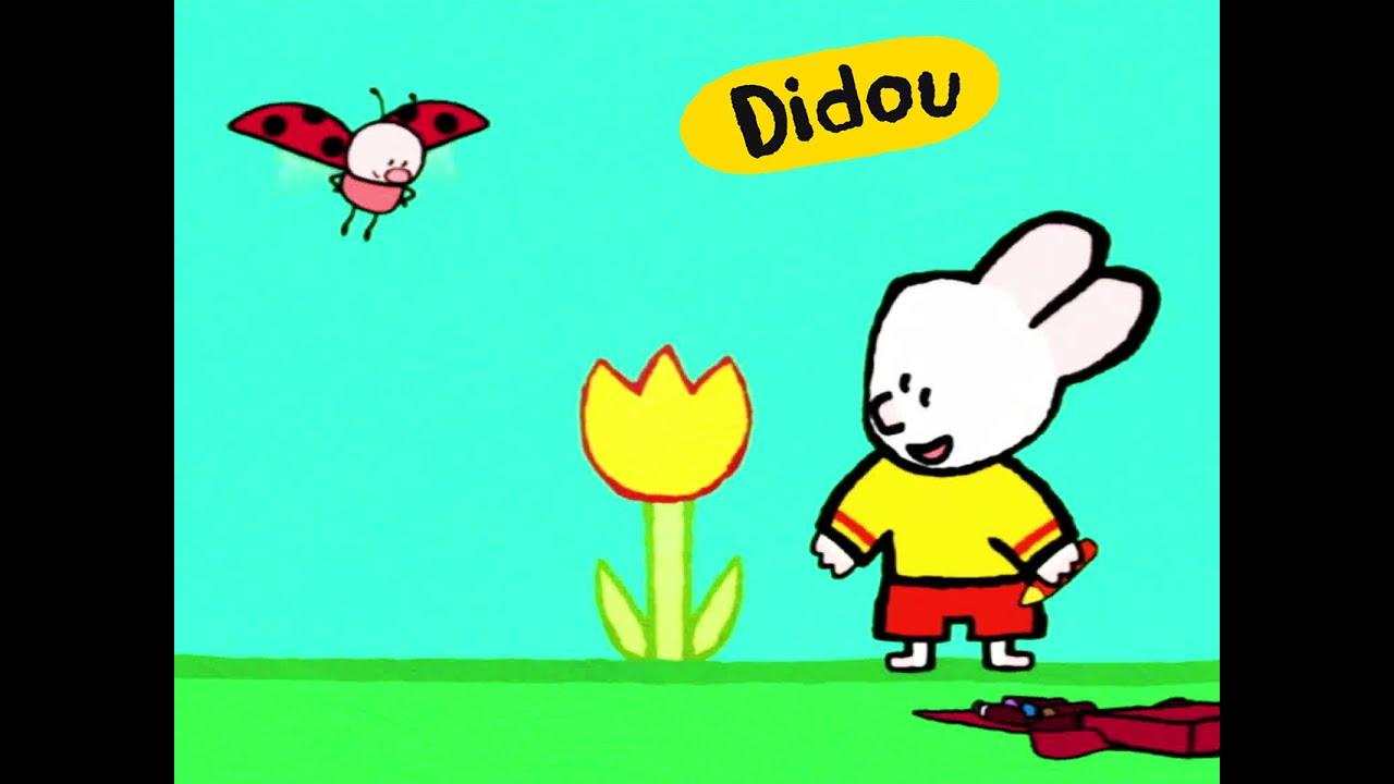 Didou dessine moi une fleur | Dessins animés pour les enfants ...