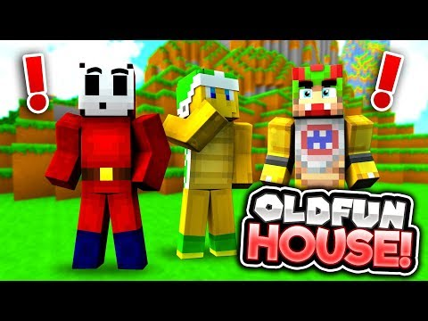 OLD FUN HOUSE IS BACK! [Emotional...] - Mario's Nintendo Land - (Minecraft Switch) [4]