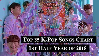 [1st Half Year of 2018] Top 35 K-Pop Songs Chart | CheeYoung95
