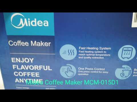 Coffee Maker Midea MCM-015D1 - Mesin Penyeduh Kopi Otomatis 0,15L