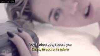 Repeat youtube video Miley Cyrus   Adore You Sub Español + Lyrics Official Video