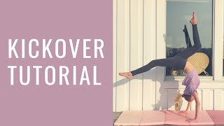 Kickover tutorial | gymnastics for beginners