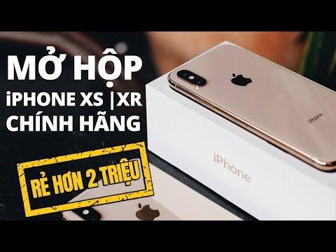 Mở hộp iPhone XS | XR chính hãng VNA : Bí kíp mua rẻ hơn 2 triệu ?