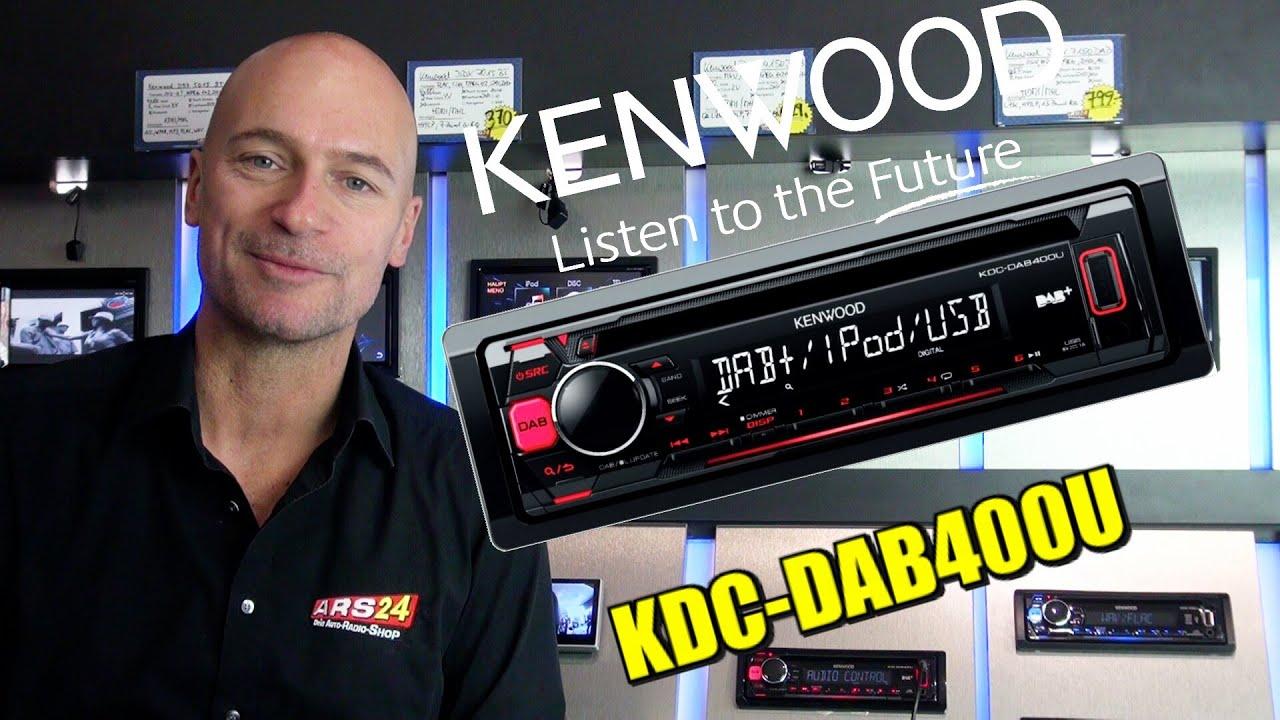 kenwood kdc dab 400 u review autoradio mit dab und. Black Bedroom Furniture Sets. Home Design Ideas