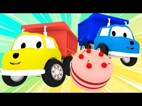 Ethan Wywrotka Piecze Tort Urodzinowy Ucz Się z Ethanem Śmieciarką Bajki Edukacyjne dla Dzieci