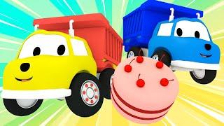 Ethan Wywrotka Piecze Tort Urodzinowy - Ucz Się z Ethanem Śmieciarką 🚚 Bajki Edukacyjne dla Dzieci