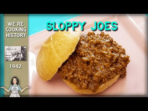 All About the Original Sloppy Joe Sandwich from 1949!