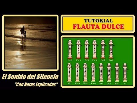 El Sonido del Silencio en Flauta Dulce