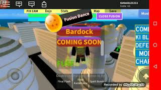 Roblox: Dragon ball Burt's serie ep1