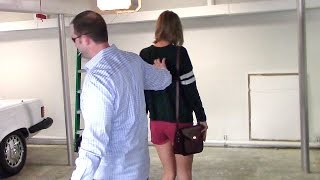 Taylor Swift Walks Backwards In High-Heeled Wedge Boots To Avoid Cameras