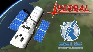Kerbal Space Program - Zeus space telescope (Hubble telescope)