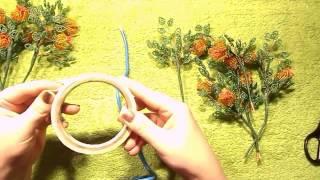 Дерево из бисера | Формирование основы | Мастер класс № 9