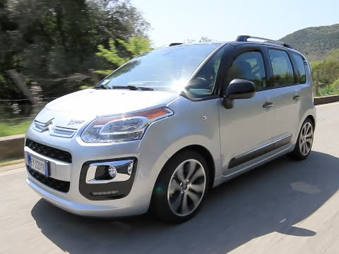 new citroen c3 picasso exclusive cinema 2015 first test drive youtube. Black Bedroom Furniture Sets. Home Design Ideas