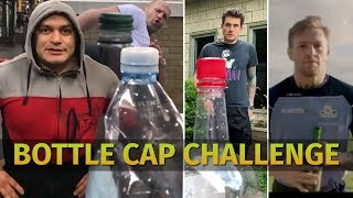 Bottle Cap Challenge. Конор Макгрегор, Джейсон Стэтхэм. Кто следующий?