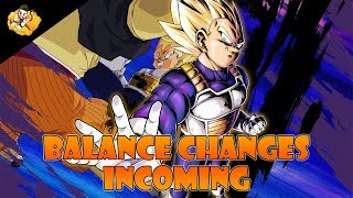 Character Balance Changes Buffs Dragon Ball Legends DB DBL DBZ