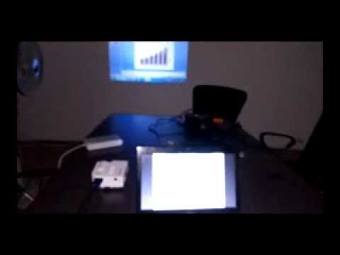 how to make a projector work with laptop