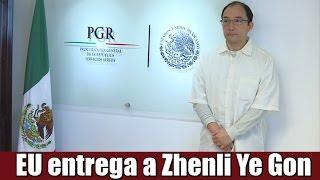EU entrega a Zhenli Ye Gon