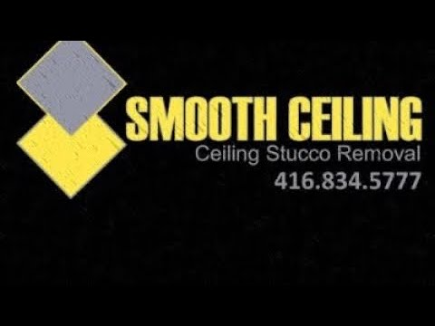 Popcorn Ceiling Removal with Smooth Ceilings / Ceiling stucco removal