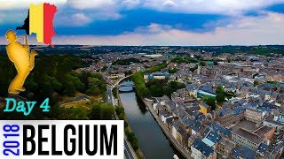 VLOG Europe adventures Dinant Day 4, Inventor of the Saxophone, Fort, Drone footage Belgium