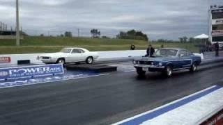 69 COPO Camaro 427 vs 68 428 SCJ Mustang