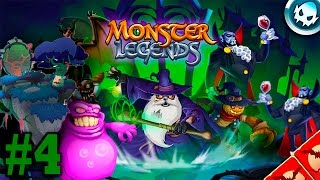 Monster Legends - Dark Forest Island Y Halloween Island (2015) - Rascal Y Count Vlad