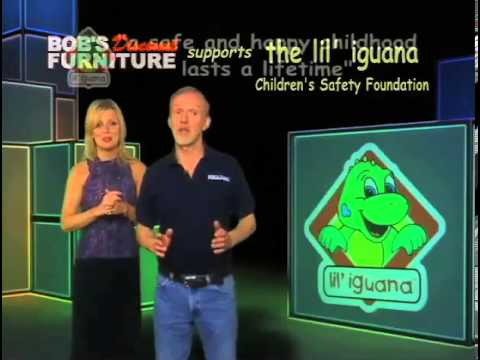 Bobu0027s Discount Furniture Supports Lilu0027 Iguana   YouTube