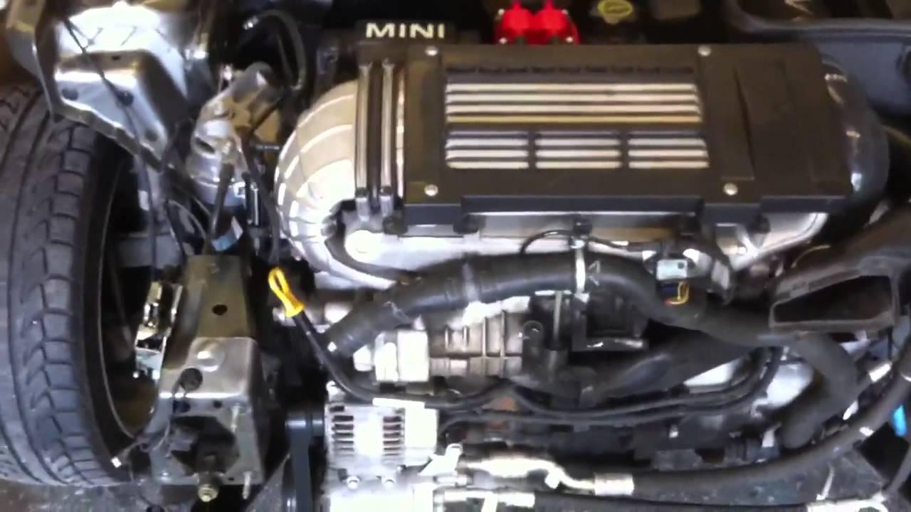 Mini Cooper s R53 Alta 17 pulley upgrade YouTube