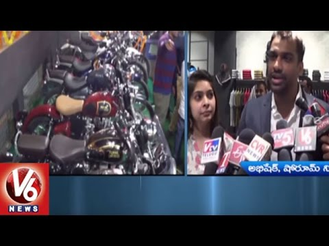 Royal Enfield Showroom Launched In Malakpet | Hyderabad | V6 News