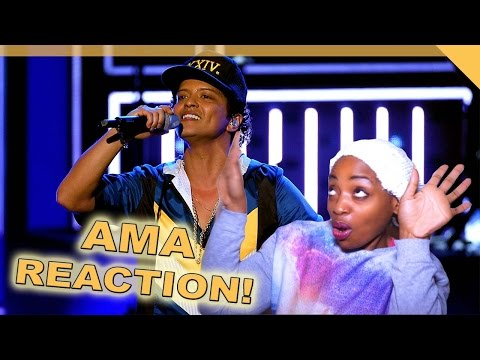 AMA Performance Reaction | Bruno Mars -...