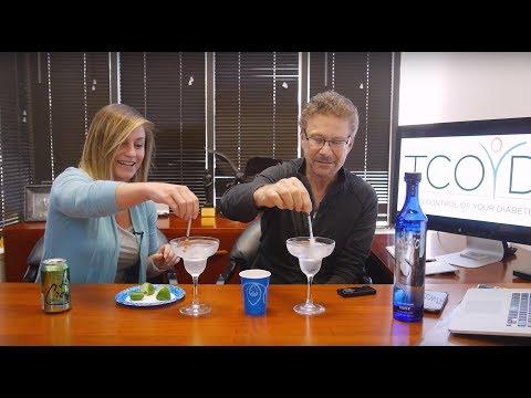 The Diabetic Bartender Makes Margaritas!