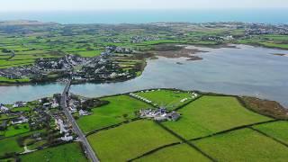 Pen Y Bont Caravan Park at Four Mile Bridge Anglesey
