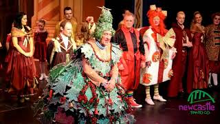 Newcastle Panto's Last Goodbye to the Tyne Theatre