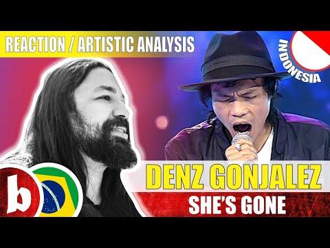DENS GONJALEZ! She's Gone (Steelheart) - Reaction Reação & Artistic Analysis (SUBS)