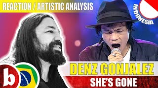 DENS GONJALEZ She s Gone Reaction ReaçãoArtistic Analysis