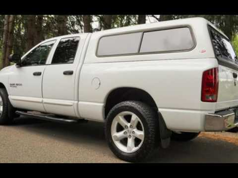 2006 Dodge Ram 1500 4X4 1 Owner Crew Cab Matching Canopy for sale in Milwaukie OR & 2006 Dodge Ram 1500 4X4 1 Owner Crew Cab Matching Canopy for sale ...