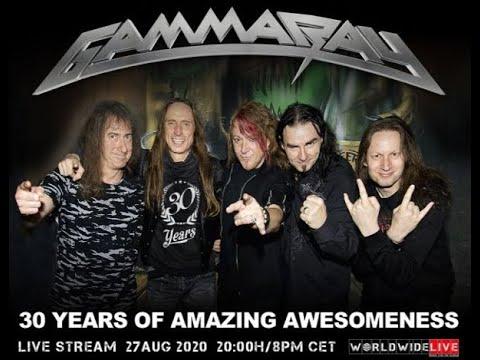 Gamma Ray feat. Helloween co-founder Kai Hansen to perform livestream 30 Anniv. show!