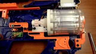 How To:The Ultimate Nerf Firefly Rev-8 Mod Tutorial (AR Removal and Spring Addition)