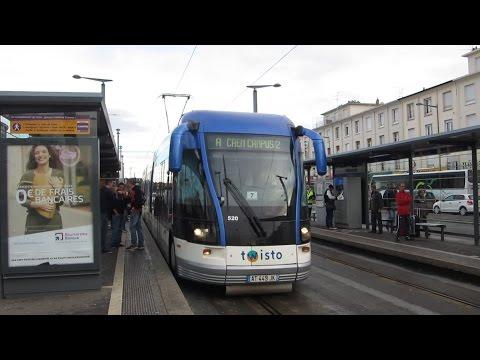 [Caen] Croisement de tramway Twisto - Gare SNCF