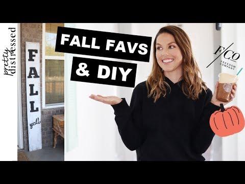 Fall Sign for Porch   2019 Fall DIY Decor & Favorites
