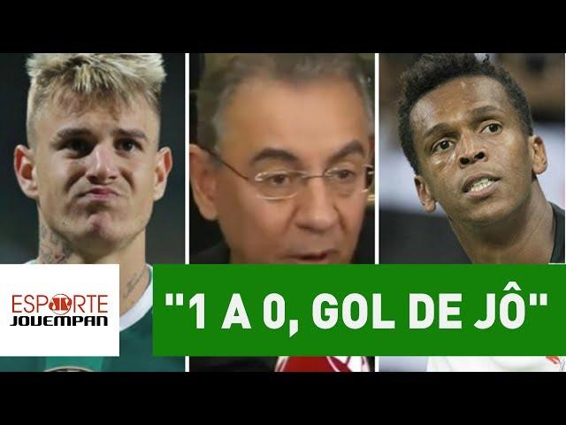 "Flavio Prado prevê dérbi a caráter pro Corinthians: ""1 a 0, gol de Jô"""