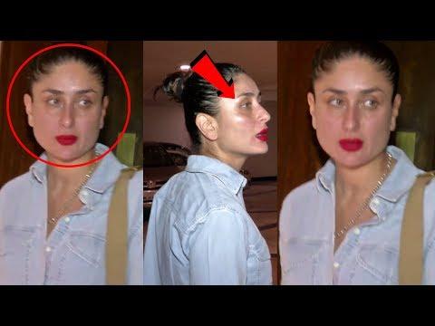 Kareena Kapoor SUFFERING From excessive STRESS   Look at Her Eyes  Manish Malhotra Party Karan Johar