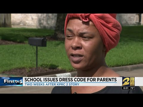 Sylvia Chacon - High School Principal Has Issued a Dress Code for PARENTS!