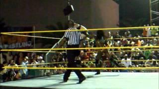 Paige vs Audrey Marie vs Caylee Turner vs Sofia Cortez FCW 3-16-12