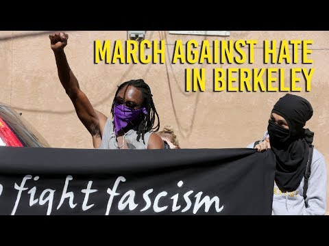 """Anti-hate march comes amid """"Free Speech Week"""" debacle at Cal"""