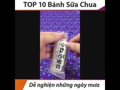 Bánh Mix Đài Loan – Top 10 Bánh Sữa Chua