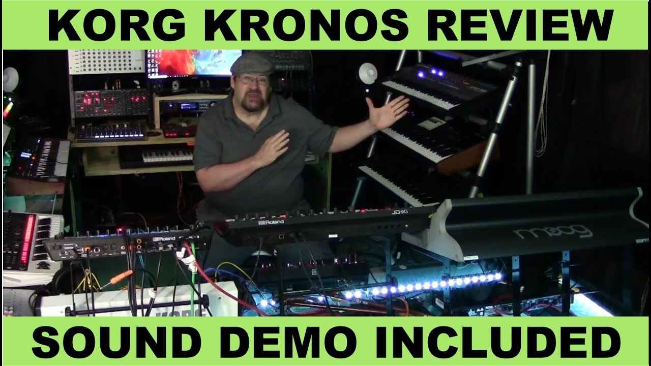 Korg Kronos 2 Review and Sound Demo