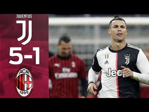 Download Juventus vs AC Milan 5-1 Highlights & Goals