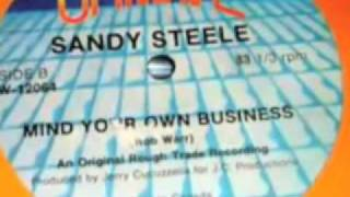Stereo-Sandy Steele  Mind Your Own Business-Finesse Library