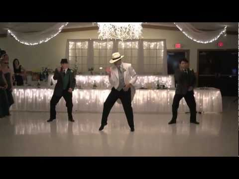 Smooth Criminal: Jeff Loehrke Wedding Dance